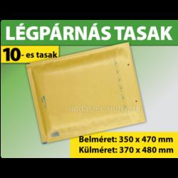LÉGPÁRNÁS BORÍTÉK (BARNA) 10-es TASAK (1000 DB FELETT)