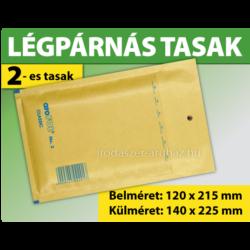 LÉGPÁRNÁS TASAK BARNA W2-es BORÍTÉK (1000 DB FELETT) B/12