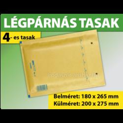 LÉGPÁRNÁS TASAK BARNA W4-es BORÍTÉK (1000 DB FELETT) D/14
