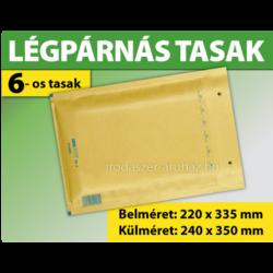 LÉGPÁRNÁS TASAK BARNA W6-os BORÍTÉK (1000 DB FELETT) F/16
