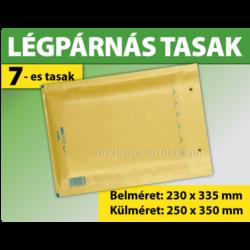 LÉGPÁRNÁS TASAK BARNA W7 BORÍTÉK G/17 1000 DARAB