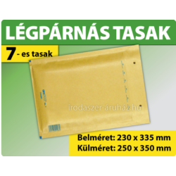 LÉGPÁRNÁS TASAK BARNA W7 BORÍTÉK G/17