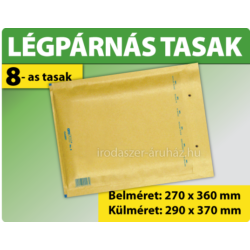 LÉGPÁRNÁS TASAK BARNA W8 BORÍTÉK H/18