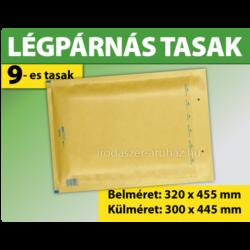 LÉGPÁRNÁS TASAK BARNA W9-es BORÍTÉK (1000 DB FELETT) I/19