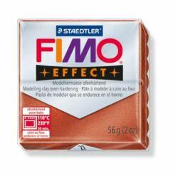 """Gyurma, 56 g, égethető, FIMO """"Effect"""", metál vörösréz"""