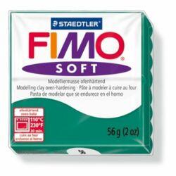 "Gyurma, 56 g, égethető, FIMO ""Soft"", smaragdzöld"