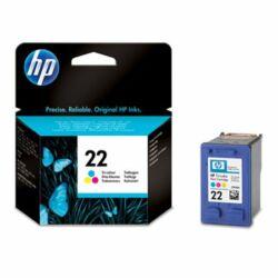 C9352AE Tintapatron DeskJet 3920, 3940, D2300 nyomtatókhoz, HP 22 színes, 5ml (eredeti)