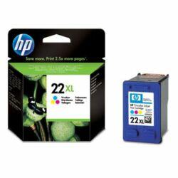C9352CE Tintapatron DeskJet 3920, 3940, D2300 nyomtatókhoz, HP 22xl színes, 415 oldal (eredeti)