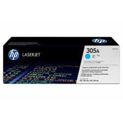 CE411A Lézertoner LaserJet Pro 300 MFP M375 nyomtatóhoz, HP 305A kék, 2,6k (eredeti)