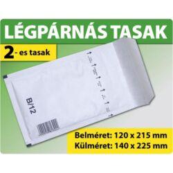 LÉGPÁRNÁS TASAK FEHÉR W2-es BORÍTÉK (1000 DB FELETT) B/12