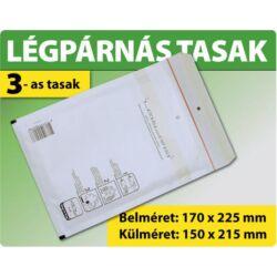 LÉGPÁRNÁS BORÍTÉK (FEHÉR) 3-as TASAK (1-999 DB ESETÉN)