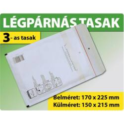 LÉGPÁRNÁS TASAK FEHÉR W3-as BORÍTÉK (10000 DB FELETT) C/13