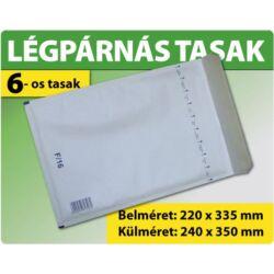 LÉGPÁRNÁS TASAK FEHÉR W6-os BORÍTÉK (1000 DB FELETT) F/16