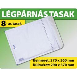 LÉGPÁRNÁS BORÍTÉK (FEHÉR) 8-as TASAK