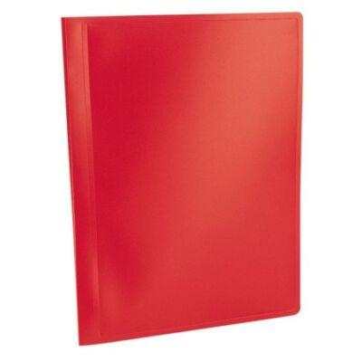 """Bemutatómappa, 10 zsebes, A4, VIQUEL """"Standard"""", piros"""