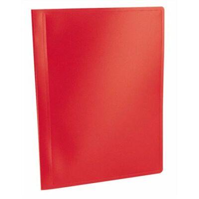 """Bemutatómappa, 20 zsebes, A4, VIQUEL """"Standard"""", piros"""