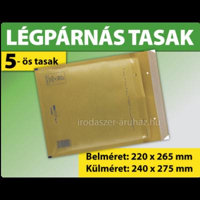 LÉGPÁRNÁS TASAK BARNA W5 BORÍTÉK E/15 1000 DARAB