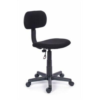 """Irodai szék, fekete szövetborítás, fekete lábkereszt, """"Easy"""""""