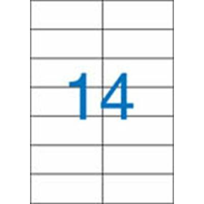 ETIKETT 105x42,4 mm-es