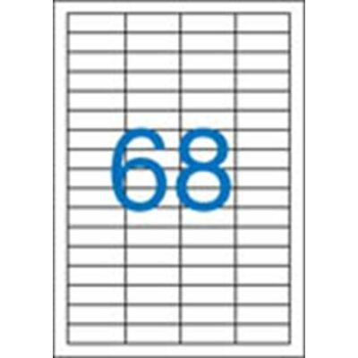 ETIKETT 48,5x16,9 mm-es
