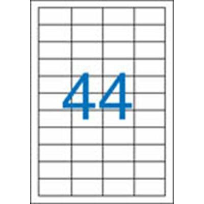 ETIKETT 48,5x25,4 mm-es