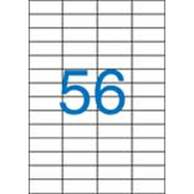 ETIKETT 52,5x21,2 mm-es