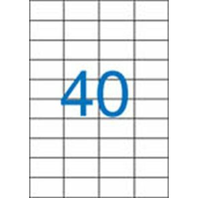 ETIKETT 52,5x29,7 mm-es