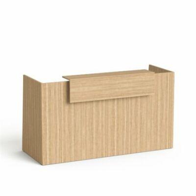"""Recepciós asztal, 190x64,5 cm, MAYAH """"Freedom SV-92"""", kőris"""