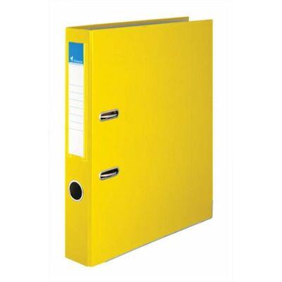 Iratrendező, 75mm, sárga