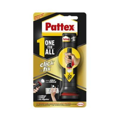 """Ragasztó, szerelési, 30 g, HENKEL """"Pattex One For All Click&Fix"""""""