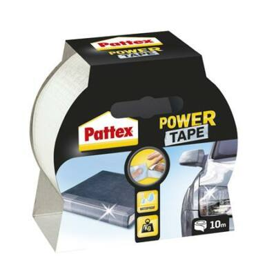 """Ragasztószalag, 50 mm x 10 m, HENKEL """"Pattex Power Tape"""", átlátszó"""