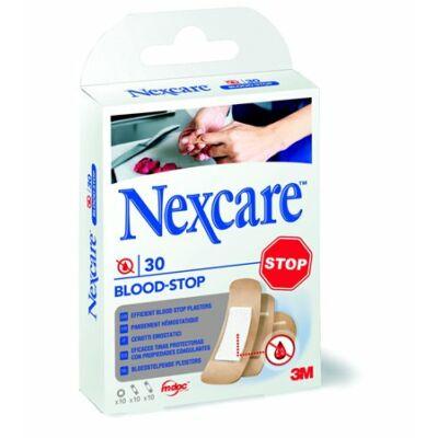 """Sebtapasz, vérzéscsillapító, 30 db, 3M """"Nexcare Blood Stop"""" ( 30 db / doboz )"""