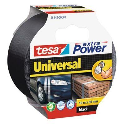 """Ragasztószalag, 50 mm x 10 m, TESA """"extra Power"""", fekete"""