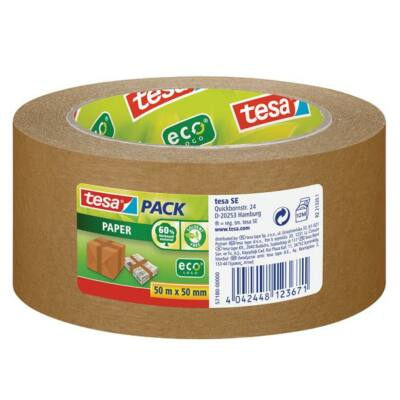 """Csomagolószalag, környezetbarát, 50 mm x 50 m, TESA """"tesapack®"""" barna"""