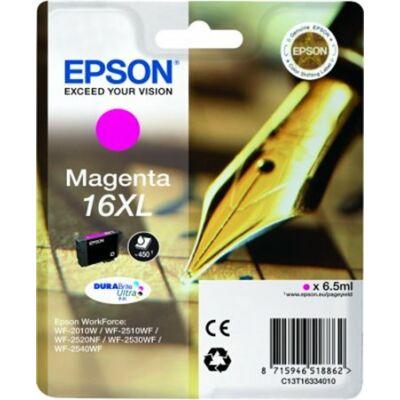T16334010 Tintapatron Workforce WF2540WF nyomtatóhoz, EPSON vörös, 6,5ml (eredeti)