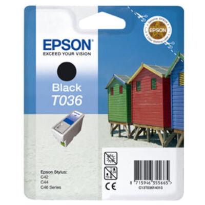 T03614010 Tintapatron Stylus C42, C44, C46 nyomtatókhoz, EPSON fekete, 10ml (eredeti)