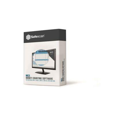 """Szoftver az UBSC6165 és UBSC6185 bankjegyvizsgálóhoz, SAFESCAN """"MCS"""""""
