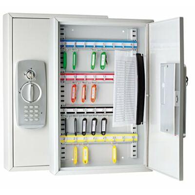 Zárható kulcszerkrény elektronikus zárral, 32 db-os WEDO