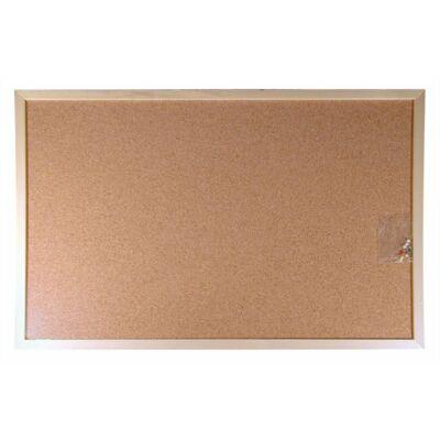 Parafatábla, kétoldalas, 30x40 cm, fa keret