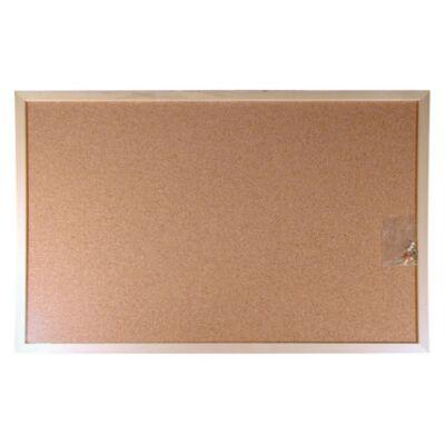 Parafatábla, kétoldalas, 40x60 cm, fa keret
