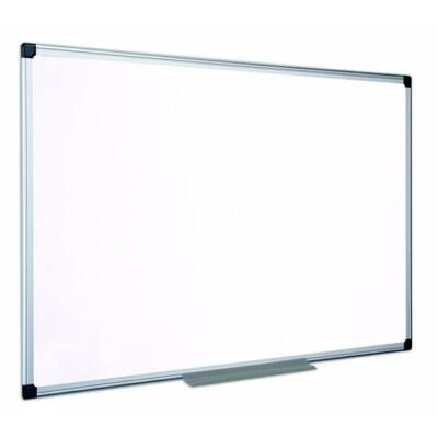 Fehértábla, nem mágneses, 60x90 cm, alumínium keret