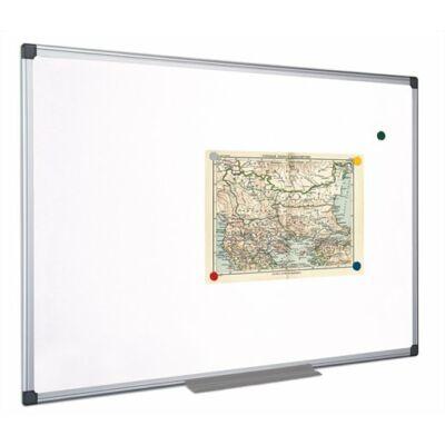Fehértábla, mágneses, 45x60 cm, alumínium keret