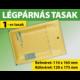 LÉGPÁRNÁS BORÍTÉK (BARNA) 1-es TASAK (1000 DB FELETT)