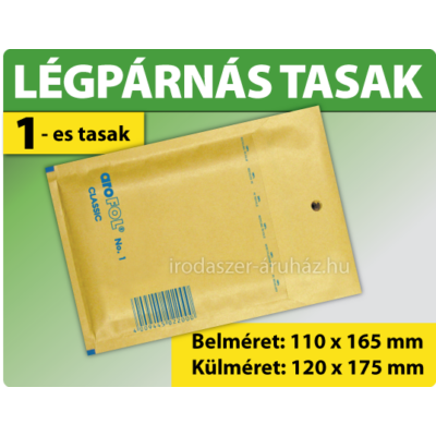 LÉGPÁRNÁS TASAK BARNA W1 BORÍTÉK A/11