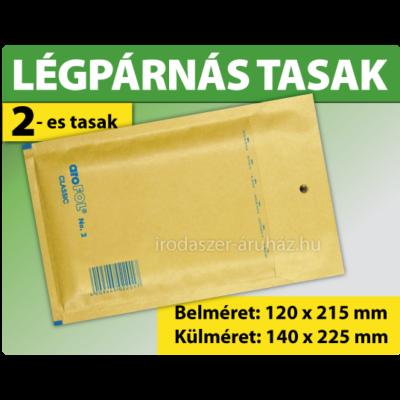 LÉGPÁRNÁS TASAK BARNA W2 BORÍTÉK B/12 1000 DARAB