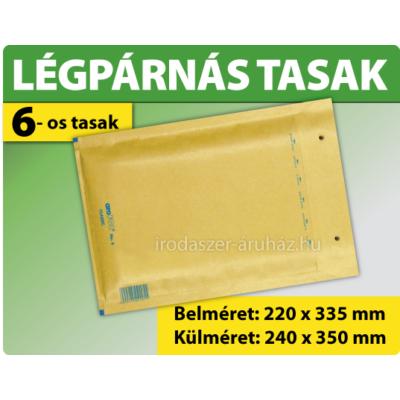 LÉGPÁRNÁS TASAK BARNA W6 BORÍTÉK F/16