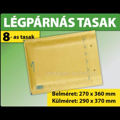 LÉGPÁRNÁS TASAK BARNA W8 BORÍTÉK H/18 1000 DARAB