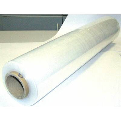 Kézi nyújtható fólia, átlátszó, 0,5m x 220m, 2,2 kg