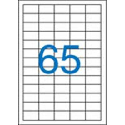 ETIKETT 38x21,2 mm-es