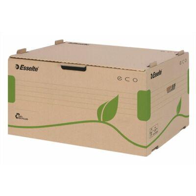"""Archiváló konténer, újrahasznosított karton, előre nyíló, ESSELTE """"Eco"""", barna"""